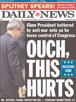 Ouch, this hurts! Daily News front page.