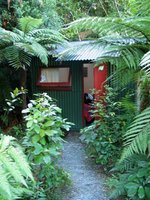Accomodation at Nikau Lodge, NZ. Copyright: WebWeaver Productions