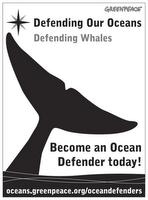 Greenpeace Ocean Defenders poster