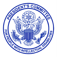 President's Committee for People with Intellectual Disabilities logo