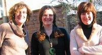Sarah, me and Hilary