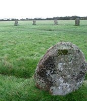 Standing Stone in Cornwall - photo credit WebWeaver Productions