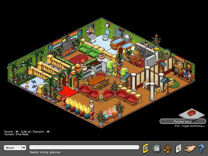 Easy Habbo Room Designs
