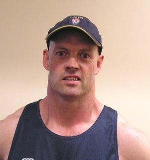 Sydney University Athlete Performance Manager Martin Harland