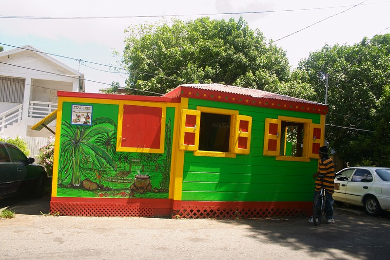 Roots and culture cuisiner ital food for soul for Jamaican home designs