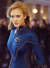 Jessica Alba in The Fantastic Four