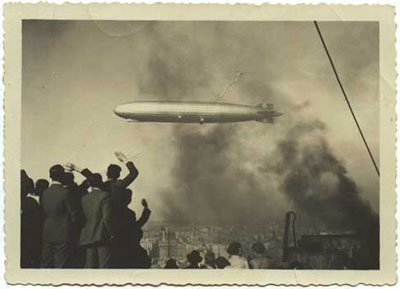 El Graf Zeppelin en Bs. As (1934)
