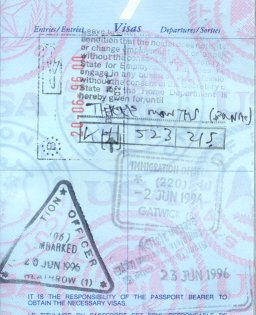 visa stamps 1