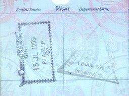 visa stamps 2