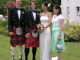 wedding party - MAtthew, Ella, best man, best woman