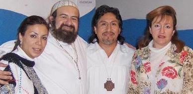Reverendo Gag-Pa Aracely, Zahires Amaru, Gueburah y Mata Ji Fatima GG::