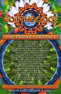 Poster de la Danza de la Tierra 2006