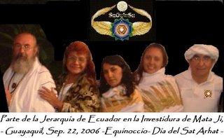 Nuevos Jerarcas en Ecuador