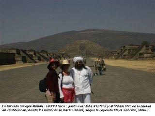En Teotihuacan, Febrero 2006