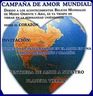 CAMPAÑA DE AMOR MUNDIAL
