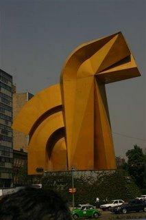 Escultura EL CABALLO en Mexico, DF.