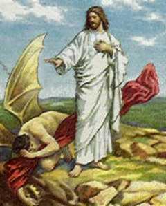 JESUS DOMINANDO LAS ENTIDADES DEL FUEGO