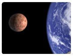 Posicion mas cercana de Marte a la Tierra