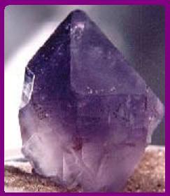 Cristal de Amatista para el alma.