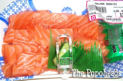 Sashimi Grade Salmon Can Be Bought From Takashimaya Or Bugis Junction Within The Cold Storage I Mine This Retail Operated By A Anese