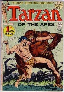 Tarzan #207, o primeiro da DC