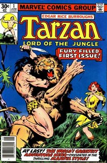 Tarzan #1, da Marvel