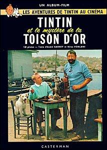 Tintin et les mystère de la Toison D'Or