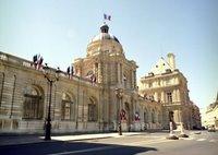 Edificio del Senado francés en París