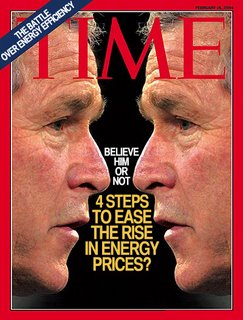 Spoof of 2004 Time Magazine cover picture