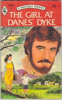 a harlequin romance: the girl at danes' dyke