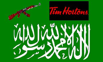 al-qaeda and tim hortons collage