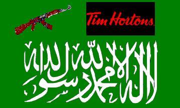 al-qaeda and tim hortons collage