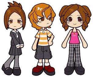 Sumire, Rui y Sacchin