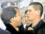 Huracán Tigre: Caruso Lombardi y el árbitro