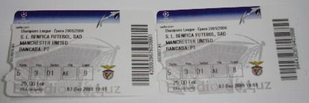 SL Benfica X Manchester Utd