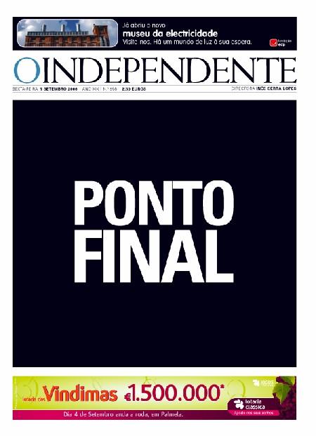 O Indefendente - Ponto Final