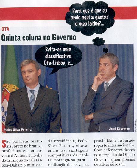 AR, CC, LR e Sofia no Governo