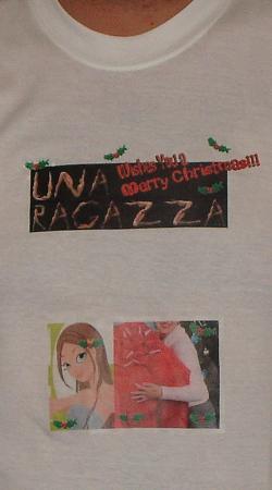 A T-shirt feita pela Ragazza