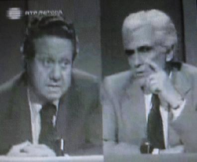 Mário Soares e Álvaro Cunhal - 6 de Novembro de 1975