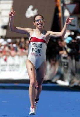 Vanessa Fernandes vice-campeã mundial de triatlo
