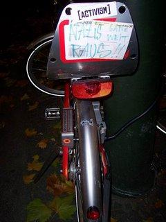 İşte benim aktivist bisikletim
