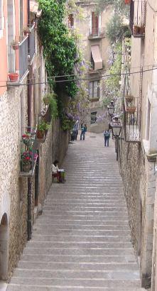 Gironanın dar sokakları