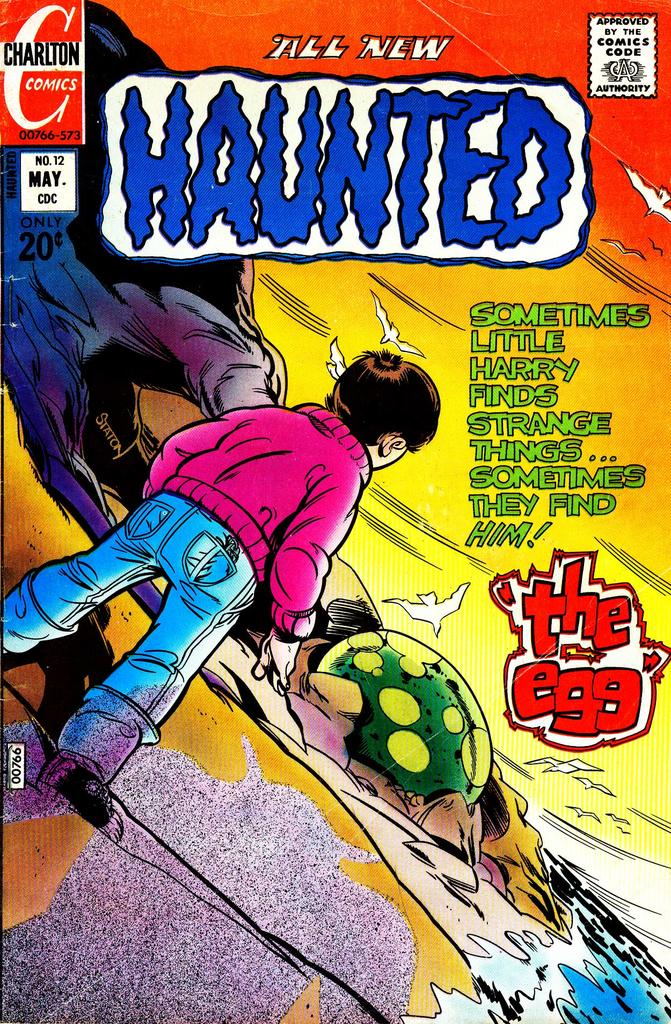Classic Comic Covers - Page 3 HAUNTED_12_Cover1