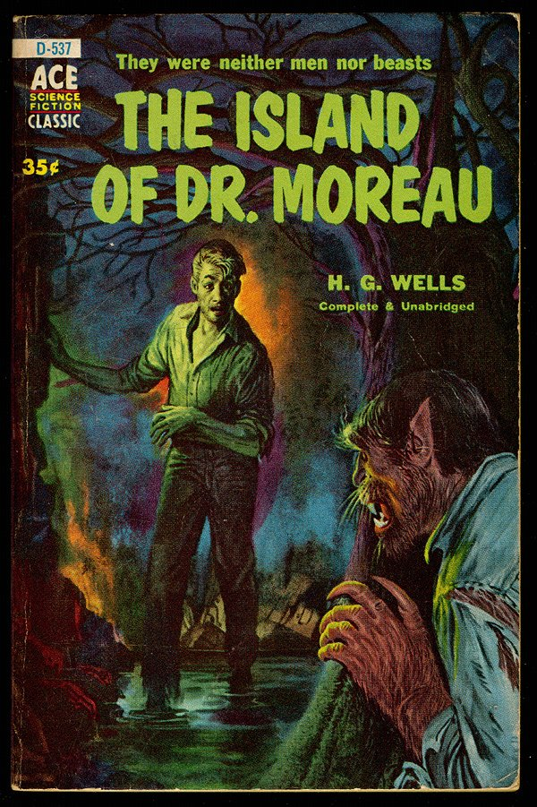 the futility of human interference with nature in the island of dr moreau by h g wells The island of dr moreau « the island of dr moreau pic by tir-nimphel published in 1896, the vision of hg wells makes a show of those who seek to tamper with the natural forces of nature.