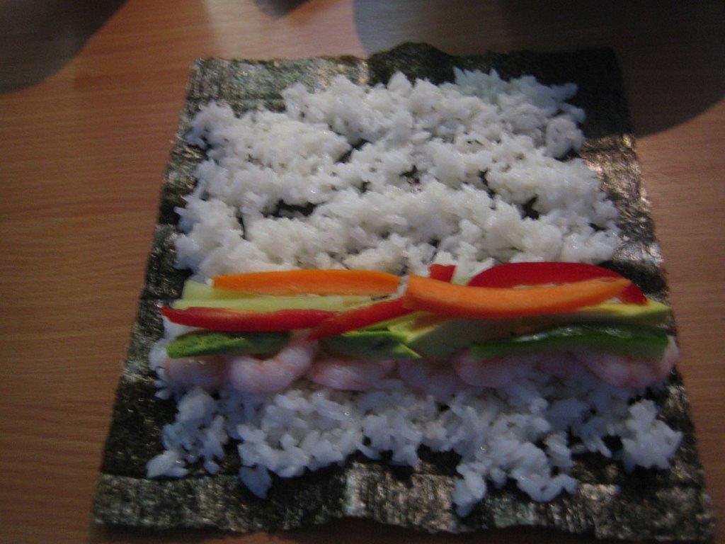 Suşi için pilav nasıl hazırlanır