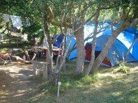 Camping in la pedrera, uruguay