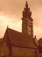 Roscoff, France, bretagne style church