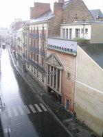 France, Rennes, rainy day