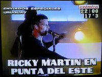 Ricky Martin Punta del Este