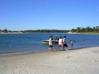 Solis beach, maldonado, river, uruguay